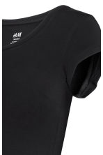 MAMA Jersey top - Black -  | H&M 4