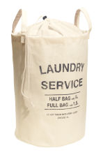 Laundry bag - Light beige - Home All | H&M GB 2