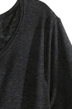 Long T-shirt - Black - Ladies | H&M CN 3