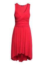 Draped dress - Red - Ladies | H&M CN 2