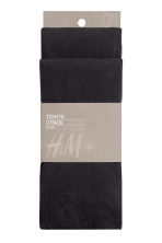 H&M+ 2-pack tights - Black - Ladies | H&M 2