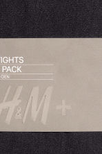 H&M+ 2-pack tights - Black - Ladies | H&M 6