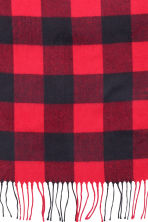 Plaid a quadri - Rosso - HOME | H&M IT 4