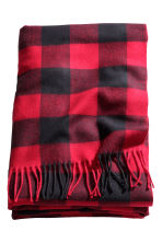 Plaid a quadri - Rosso - HOME | H&M IT 2