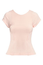 Top peplum - Rosa cipria - DONNA | H&M IT 2