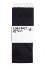 2-pack leggings, 60 den - Black - Ladies | H&M 2