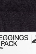 2-pack leggings, 60 den - Black - Ladies | H&M 3