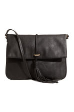 Shoulder bag with a tassel - Black - Ladies | H&M 1
