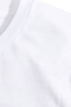 Basic T-shirt - White -  | H&M CN 3