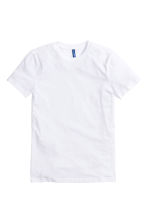 Basic T-shirt - White -  | H&M CN 2