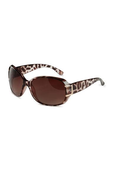 lunettes de soleil marron femme h m fr. Black Bedroom Furniture Sets. Home Design Ideas