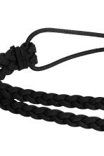 Braided hairband - Black - Ladies | H&M CN 2