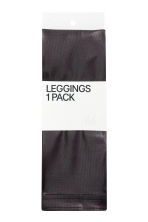 Coated leggings - Black - Ladies | H&M CN 2