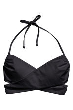 Bandeau bikini top - Black - Ladies | H&M CN 2