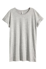 Long T-shirt - Grey marl - Ladies | H&M CN 2