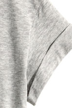 Long T-shirt - Grey marl - Ladies | H&M CN 3