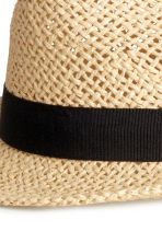 Straw hat - Natural - Men | H&M GB 2