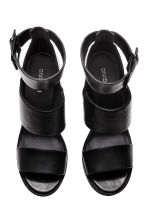Platform sandals - Black - Ladies | H&M CN 2