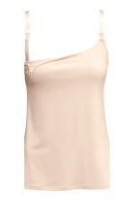 MAMA 2-pack nursing tops - Light beige/Black - Ladies | H&M CN 4