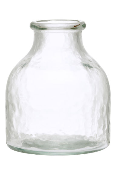 Petit vase en verre - Verre transparent - Home All | H&M FR 1