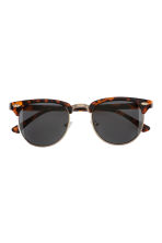 Sunglasses - Tortoise shell - Ladies | H&M GB 2