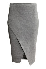 Wraparound skirt - Dark grey - Ladies | H&M GB 2