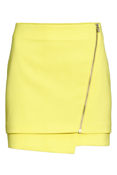 Gonna corta - Giallo - DONNA | H&M IT 1
