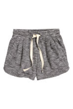 Short sweatshirt shorts - Dark grey - Ladies | H&M GB 2
