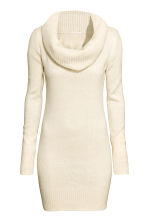 Polo-neck jumper - Natural white marl - Ladies | H&M CA 2