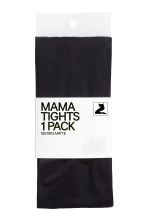 MAMA 100 denier tights - Black - Ladies | H&M 2