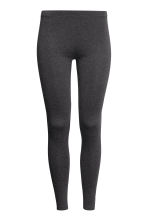 Jersey leggings - Dark grey marl - Ladies | H&M CN 2