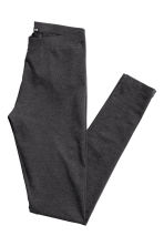 Jersey leggings - Dark grey marl - Ladies | H&M CN 3