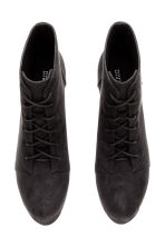 Platform boots - Black/Snakeskin patterned - Ladies | H&M CN 3