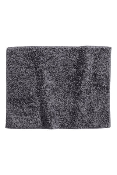 Bath mat - Dark grey - Home All | H&M CN 1