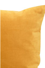 Velvet cushion cover - Mustard yellow -  | H&M GB 2