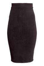 Jersey skirt - Black - Ladies | H&M GB 4