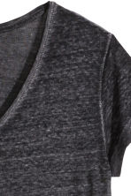 Jersey top - Black marl - Ladies | H&M CN 3