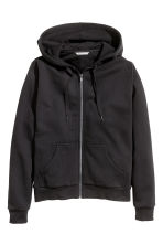Hooded jacket - Black - Ladies | H&M GB 2