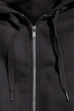Hooded jacket - Black - Ladies | H&M GB 3