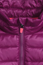 Lightweight jacket - Dark purple - Kids | H&M CN 3
