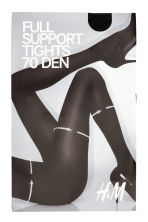 70 denier support tights - Black - Ladies | H&M 2