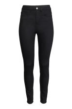 Trousers High waist - Black - Ladies | H&M GB 2