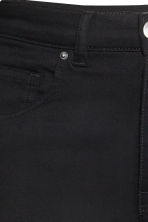 Trousers High waist - Black - Ladies | H&M 8