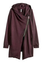 Cardigan felpa con cappuccio - Bordeaux - DONNA | H&M IT 2