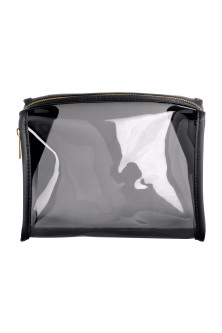Transparent makeup-bag