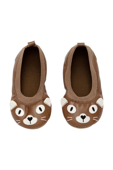 Ballet pumps - Brown - Kids | H&M CN 1