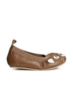 Ballet pumps - Brown - Kids | H&M CN 2