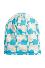 Jersey hat - Turquoise/Dinosaurs - Kids | H&M CN 1