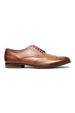 Brogues - Cognac brown - Men | H&M CN 2