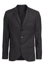 Blazer a 3 bottoni in lana - Grigio scuro - UOMO | H&M IT 2